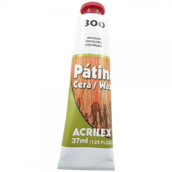 Patina Cera Acrilex 37Ml 300 Incolor – 180370300