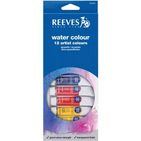 AQUARELA REEVES 12 CORES - 6701