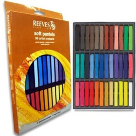 PASTEL SECO REEVES 24 CORES PS24 - 6699