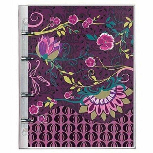 FICHARIO BOTANICAL ROXO-3863-2