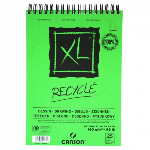 BLOCO XL RECYCLE A5 160G 25 FOLHAS - 60001871